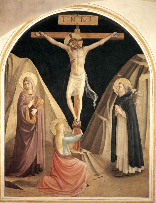 Fra_Angelico_-_Crucifixion_with_the_Virgin,_Mary_Magdalene_and_St_Dominic_(Cell_25)_-_WGA00547